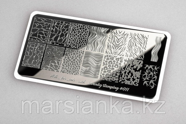 Пластина Arti for you with Swanky Stamping #11