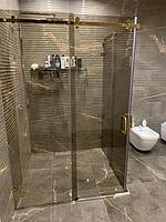 Реконструкция ванной комнаты с витражным окном. Размер = 4,3 х 3,8 х 3,3 м. Адрес: г. Иссык. 1