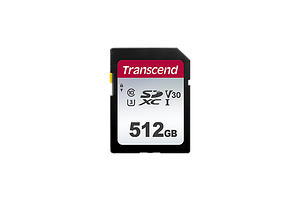 Карта памяти Transcend 512GB UHS-I U3 SD card