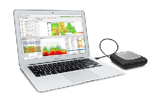 Includes Ekahau Pro software license and Ekahau Sidekick for Wi-Fi site surveys, analysis, optimization, and troubleshooting.