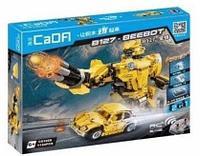 Конструктор лего радиоуправляемый CADA 2 в 1 трансформер B127-BeeBot 1124 дет C51029W аналог Lego Technic, фото 1