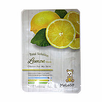 Meloso Total Solution Lemon Mask Маска тканевая для лица с экстрактом лимона