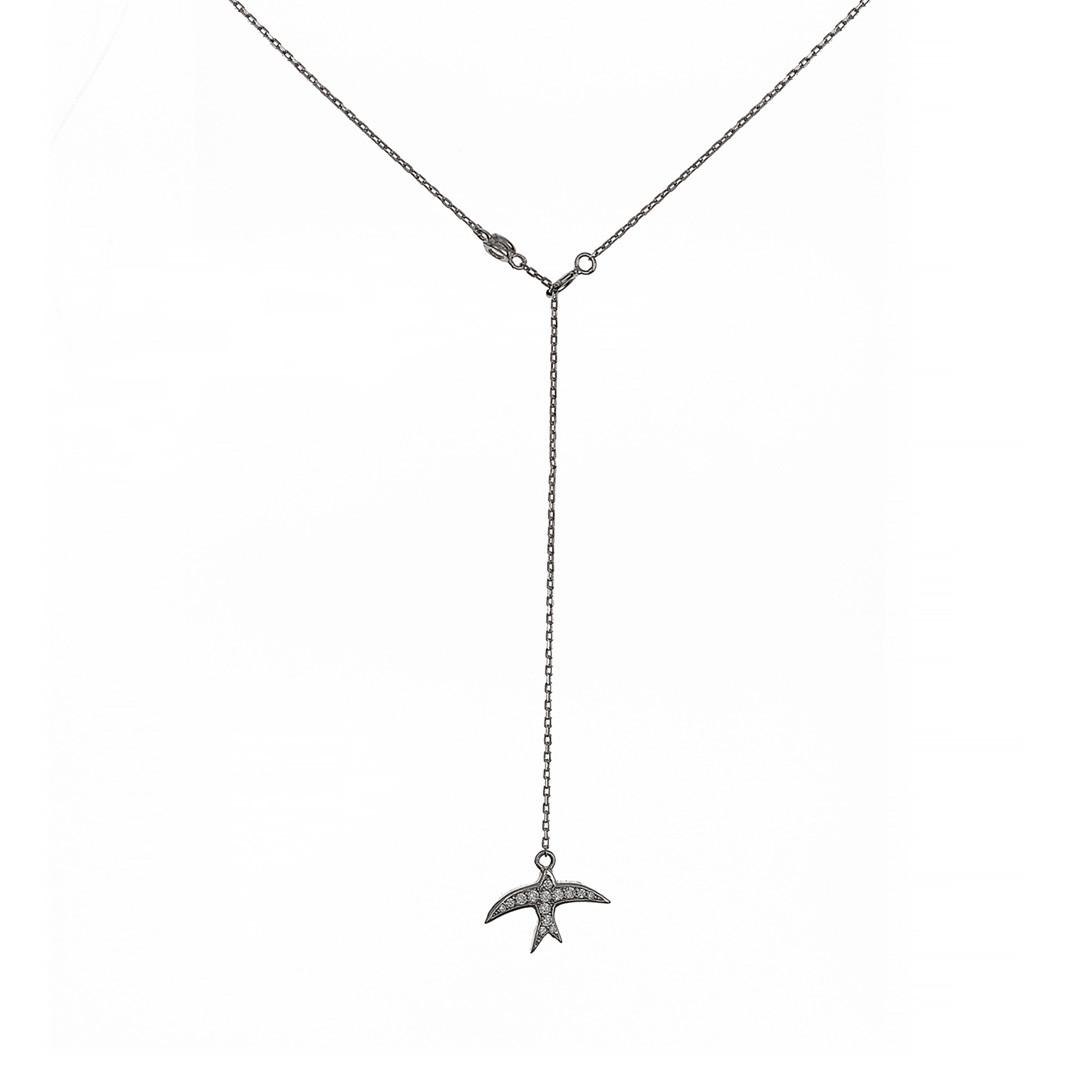 Серебряный сотуар Ласточка   Brosh Jewellery (Серебро 925)