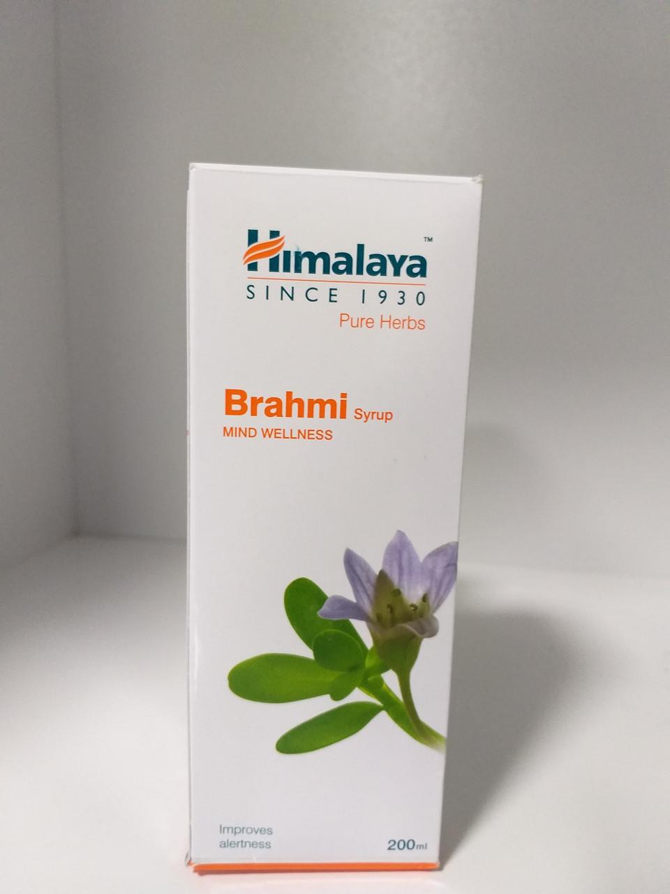 Сироп Брахми, Brahmi syrop, 200 мл,  Himalaya