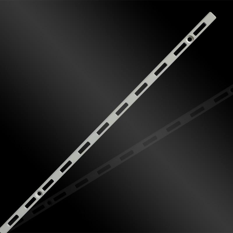 Торговое оборудование - Рельс настенный одинарный белый 2400