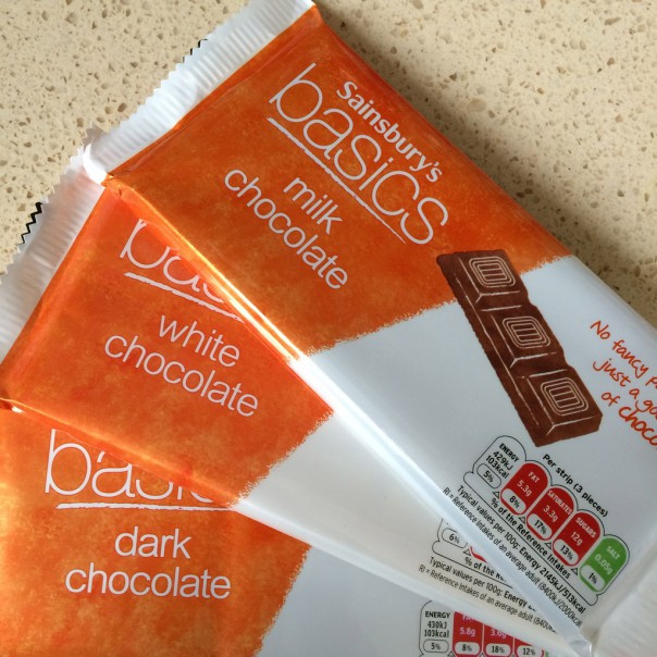 Темны шоколад Sainsbury's Dark Chocolate, Basics 100гр