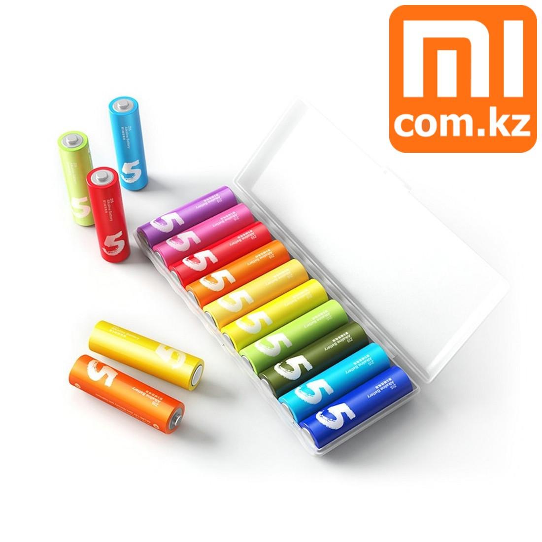 Батарейки Xiaomi Mi Rainbow AA, 10 шт, разноцветные