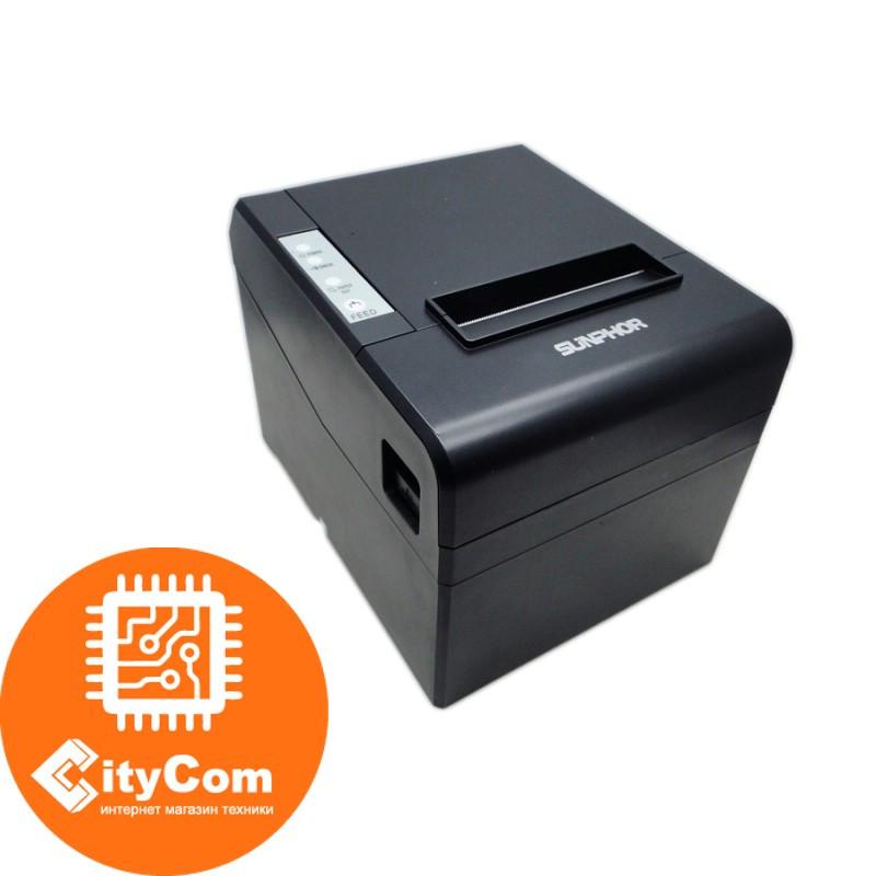 Принтер чеков SUNPHOR SUP80330CN POS термопринтер чековый для магазинов, бутиков, кафе и др.