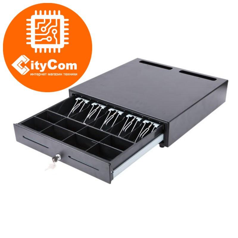 Денежный ящик для купюр и монет Sunphor SUP-4142B. Кассовый ящик. Автоматический.
