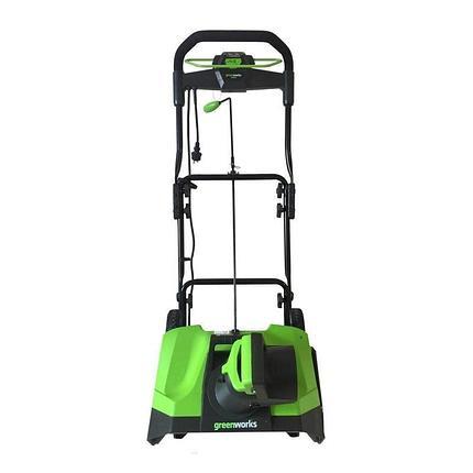 Снегоуборщик электрический, 51 см GREENWORKS GES13, 1800 Вт, арт 2600507, фото 2