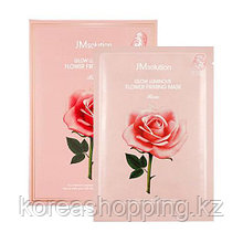 Тканевая маска JM SOLUTION Glow Flower Firming Mask Rose (Поштучно)