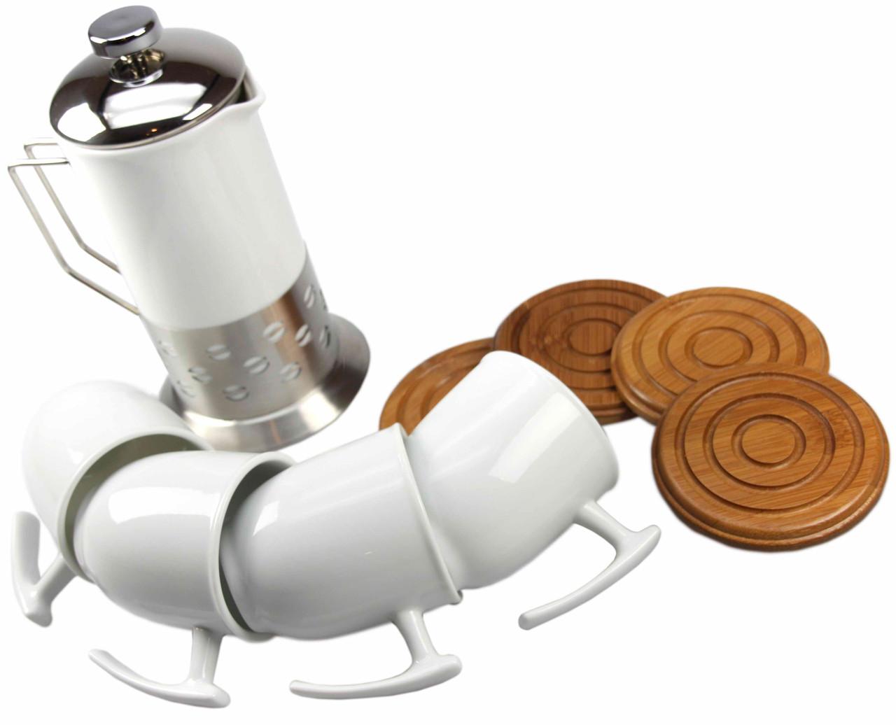 Керамический  набор на 4 персоны чайный