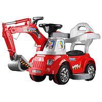 Каталка ToysMax Экскаватор электрическая с пультом