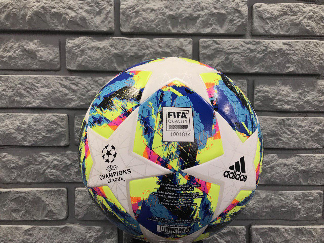 Мяч тренировочный Adidas Finale Training CHAMPIONS LEAGUE DY2551