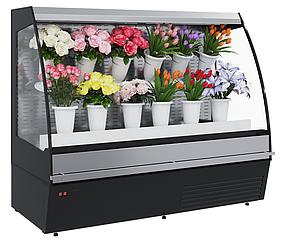 Горка холодильная для цветов Carboma F 16-08 VM 1,9-2 0020 FLORA