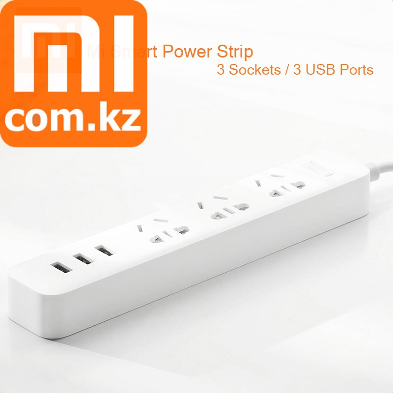 Удлинитель 220В Xiaomi Mi Power Strip. Оригинал.