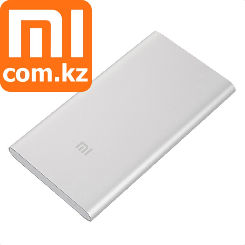 Портативная зарядка Power Bank Xiaomi Mi 5000 mAh SuperSlim. Внешний аккумулятор. Повербанк. Оригина