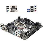 Материнская плата ASRock H310CM-DVS MB Socket1151, MATX, iH310 (VGA+DVI, SB, GNIC), 2DDR4, 1PCIx16, 1PCIx1