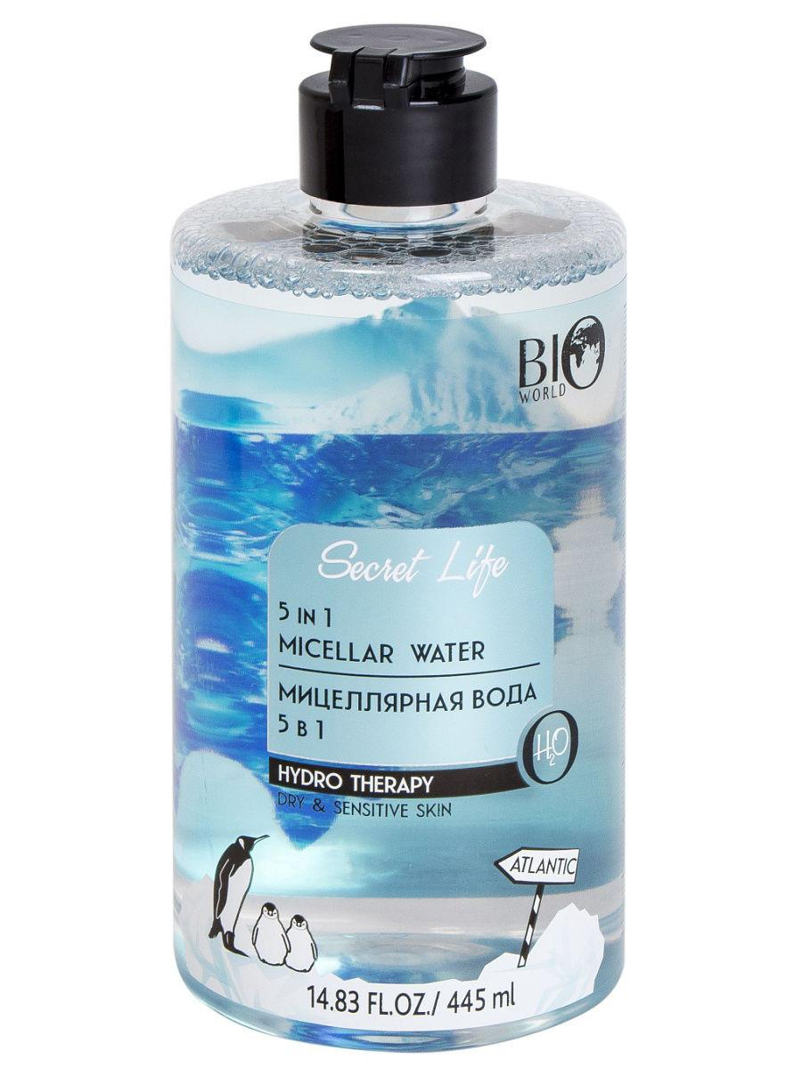 Мицеллярная вода 5 в 1 Bio World Secret Life Hydro Therapy