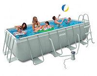 Каркасный бассейн Intex 400x200x100cм полный комплект, фото 1
