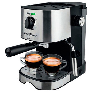 Кофемашина полуавтоматическая рожковая Scarlett SL-CM53001 с капучинатором