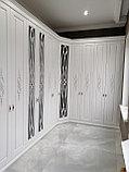Встраиваемый распашной шкаф МДФ, фото 4
