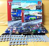 Конструктор аналог лего LEGO City Ausini 25808 серия Поезд (573 детали) Грузовой Локомотив, фото 3