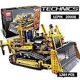 Конструктор аналог Лего Technic 8275 LEGOTechnicBulldozer  LEPIN 20008, фото 5