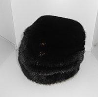 Шапка норка М165-6 черный, фото 1