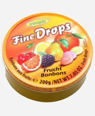 Леденцы Woogie Fine Drops Frucht Bonbons   200гр