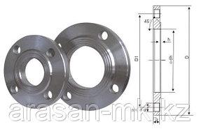Фланцы стальные приварные РУ10 Ду50 ГОСТ 12820-80