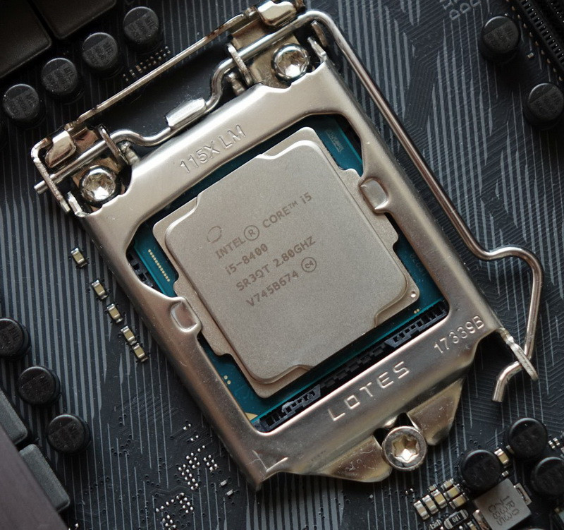 Процессор CPU S-1151 Intel Core i5 8400  <2,8 GHz, 6 Core, Turbo Boost 4,00 GHz