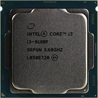 Процессор CPU S-1151 Intel Core i3 9100F 3.6 GHz (4.2 GHz Turbo), 4-Core, 6MB, Coffee Lake>