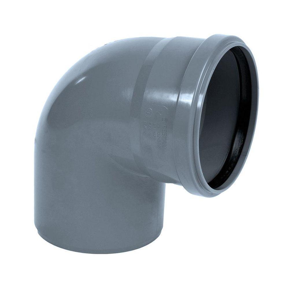Отвод ПВХ 100 мм.