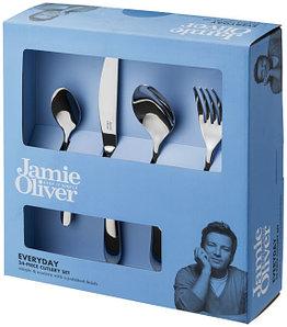 Набор от Jamie Oliver из 24 столовых приборов.