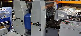 2-красочная листовая офсетная печатная машина RYOBI 522HXX 2+0, 1999 г.