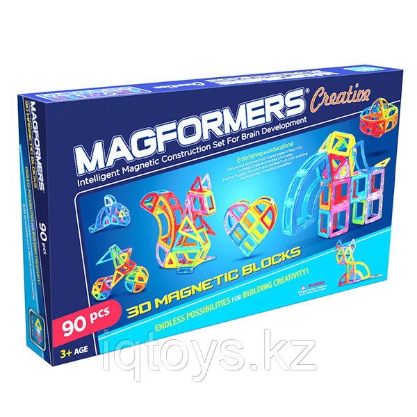 Магнитный конструктор Magformers Creative 90 (90 деталей)