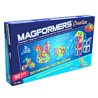Магнитный конструктор Magformers Creative 90 (90 деталей), фото 1