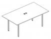 Конференц столы на металлических ножках, фото 5