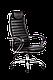 Кресло ортопедическое офисное хром  бизнес, фото 2