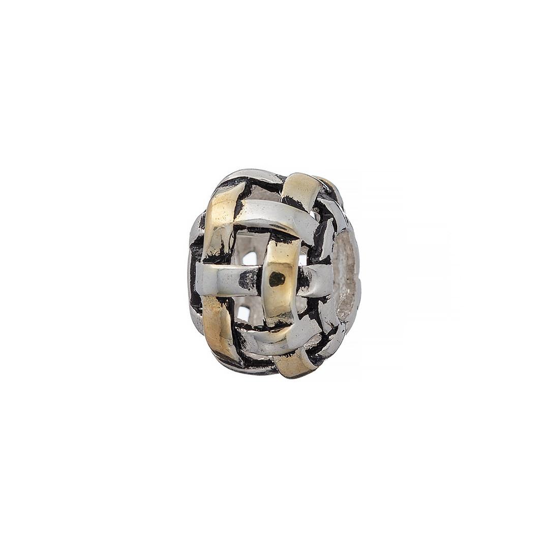 Шарм Brosh Jewellery (Серебро 925) покрытие родий и позолота.