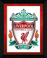 Фотопостер в рамке  LIVERPOOL FOOTBALL SPORTS U.S.A — LIVERPOOL, 21,5x20 cm, PFA117