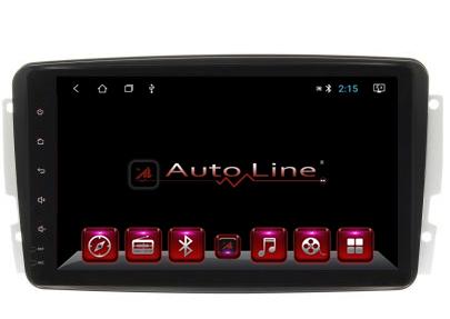 Автомагнитола AutoLine Mercedes-Benz W203 C-Сlass 2001-2004 HD ЭКРАН 1024-600 ПРОЦЕССОР 8 ЯДЕР (OCTA CORE)