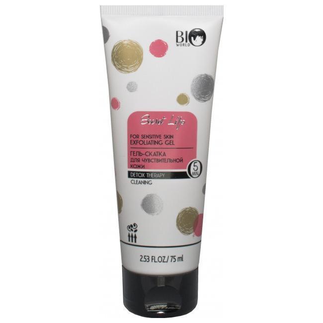 Гель-скатка BIO WORLD Для чувствительной кожи Detox Therapy