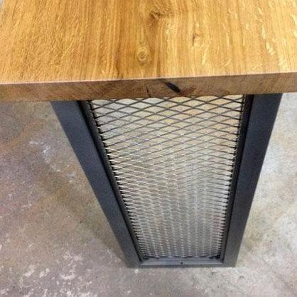 Барный стол на металлическом основании, фото 2