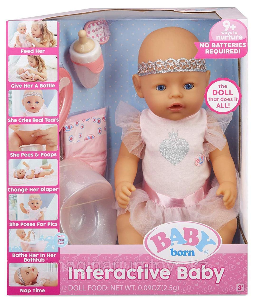 Интерактивная кукла Беби Борн Baby Born 43 см США