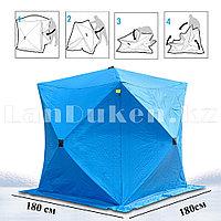 Зимняя палатка stinger 180 см x 180 см (синяя)