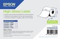 Бумага Epson C33S045536 High Gloss Label