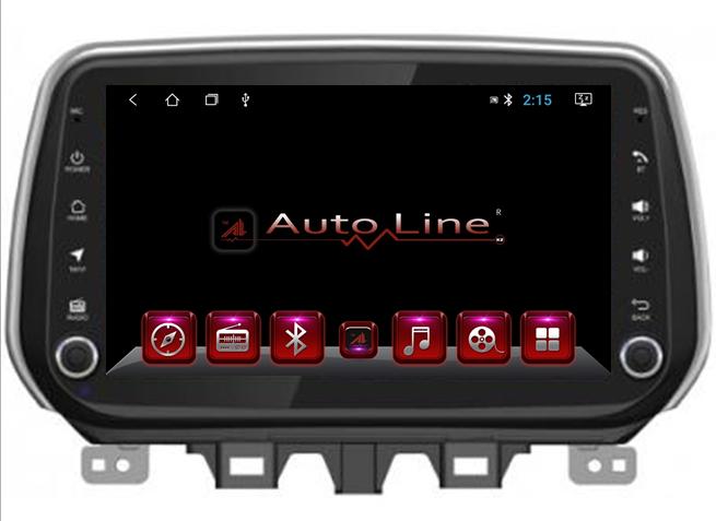 Автомагнитола AutoLineАвтомагнитола для Hyundai Tucson 2018-2019 г HD ЭКРАН 1024-600 ПРОЦЕССОР 4 ЯДРА (QUAD