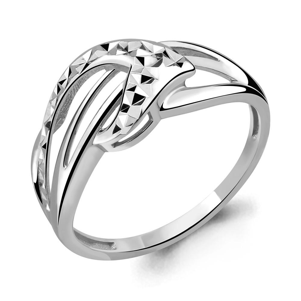 Серебряное кольцо AQUAMARINE (#708779)